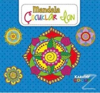 Mandala - Çocuklar İçin Mavi