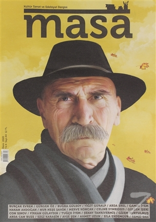Masa Dergisi Sayı: 44 Ekim 2020