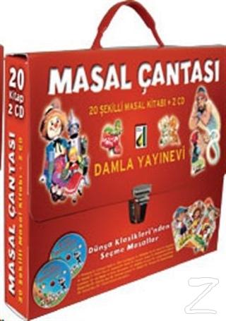 Masal Çantası 20 Şekilli Masal Kitabı +2 CD
