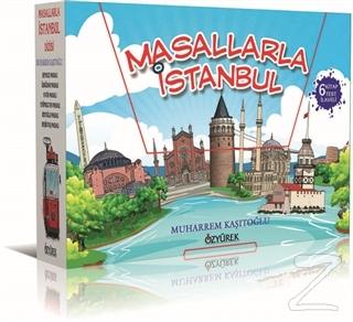 Masallarla İstanbul Dizisi (6 Kitap Kutulu - Her Bir Kitap İçin 20 Sorulu Test Kitabı İlaveli)