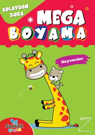 Mega Boyama - Hayvanlar