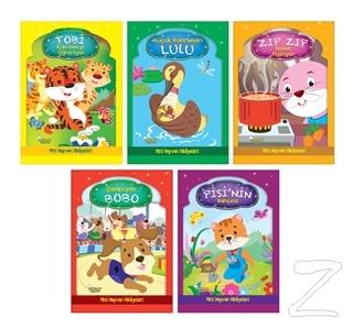 Mini Hayvan Hikayeleri (5 Kitap Takım)