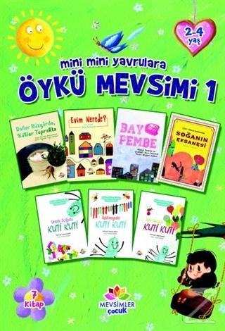 Mini Mini Yavrulara Öykü Mevsimi 1 (7 Kitap)