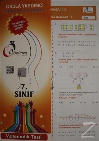 Öğretmen 7. Sınıf Matematik Testi