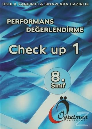 Öğretmen 8. Sınıf Performans Değerlendirme Check Up 1-2
