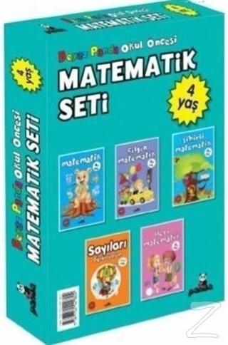 Okul Öncesi 4 Yaş Matematik Seti (5 Kitap Takım)