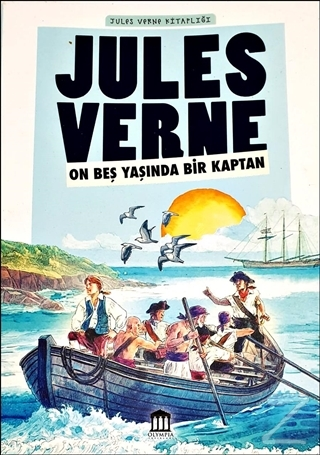 On Beş Yaşında Bir Kaptan - Jules Verne Kitaplığı Jules Verne