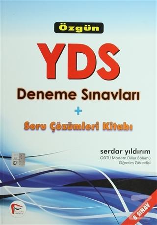 Özgün YDS Deneme Sınavları ve Soru Çözümleri Kitabı - 8 Sınav