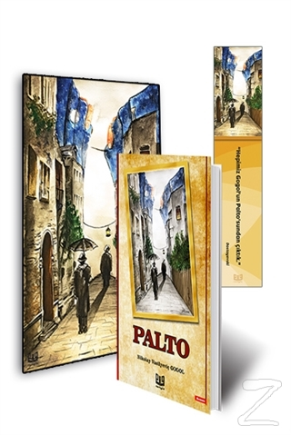 Palto 3'lü Set (Kitap - Mini Tablo - Ayraç)