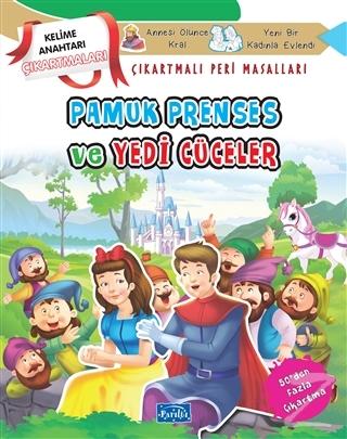 Pamuk Prenses ve Yedi Cüceler - Çıkartmalı Peri Masalları