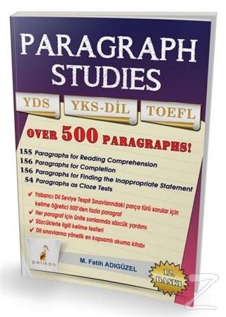 Paragraph Studies YDS YKS-DİL TOEFL