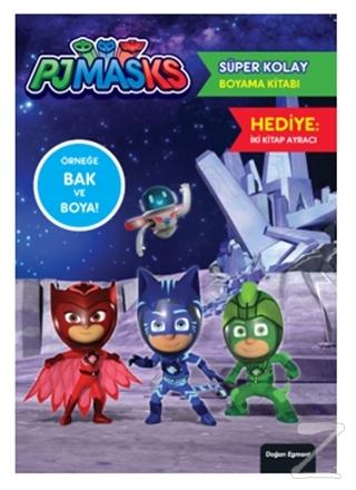 Pjmasks Süper Kolay Boyama Kitabı