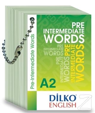 Pre Intermediate Words A2 Kelime Kartı
