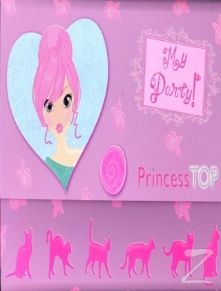 Princess Top My Party (Mor)