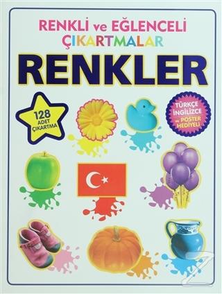 Renkli ve Eğlenceli Çıkartmalar - Renkler (Colors)
