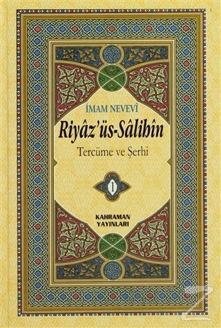 Riyaz'üs-Salihin Tercüme ve Şerhi (6 Cilt Takım Hafız Boy) (Ciltli)