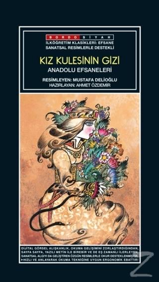 Sanatsal Resimli Kız Kulesinin Gizi - Anadolu Efsaneleri