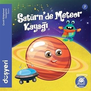 Satürn'de Meteor Kayağı