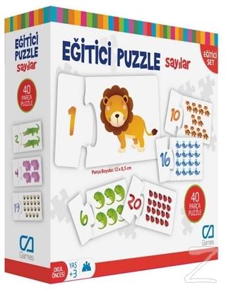 CA Games Sayılar - Eğitici Puzzle