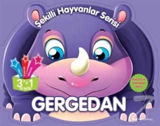 Gergedan - Şekilli Hayvanlar Serisi