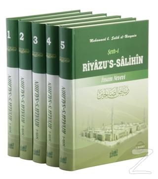 Şerh-i Riyazu's-Salihin (5 Cilt Takım) (Ciltli)