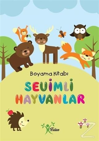 Sevimli Hayvanlar - Boyama Kitabı Kolektif