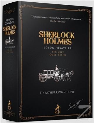 Sherlock Holmes Bütün Hikayeler (Tek Cilt - Özel Basım) (Ciltli)