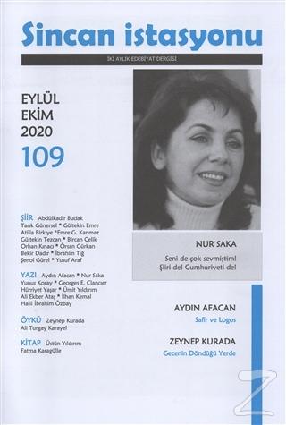 Sincan İstasyonu Edebiyat Dergisi Sayı: 109 Eylül Ekim 2020