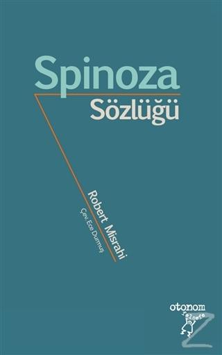 Spinoza Sözlüğü