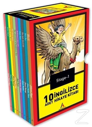 Stage-1 İngilizce Hikaye Seti 10 Kitap
