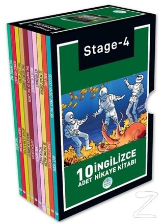 Stage 4 İngilizce Hikaye Seti (10 Kitap Takım)