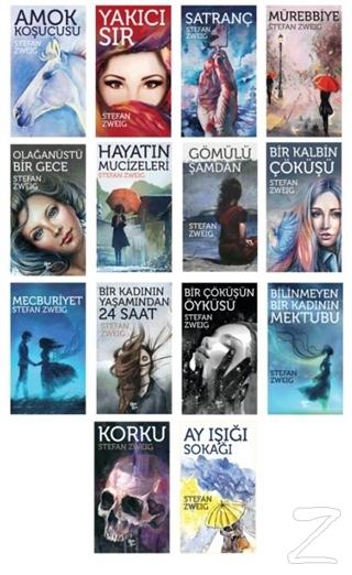 Stefan Zweig Seti (14 Kitap Takım)