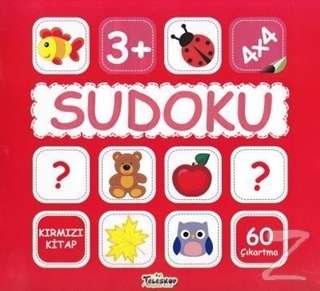 Sudoku 4x4 - Kırmızı Kitap