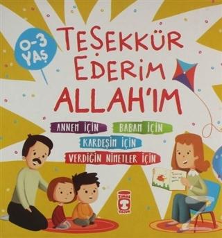Teşekkür Ederim Allah'ım (4 Kitap Takım)