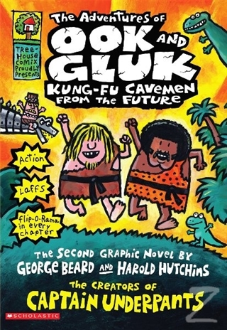 The Adventures of Ook and Gluk, Kung-Fu Cavemen from the Future (Ciltli)