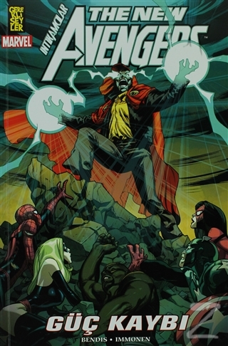 The New Avengers İntikamcılar Cilt: 12 Güç Kaybı