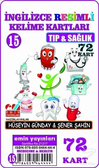 Tıp ve Sağlık - İngilizce Resimli Kelime Kartları 15