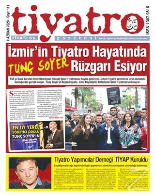 Tiyatro Gazetesi Sayı: 111 Haziran 2020
