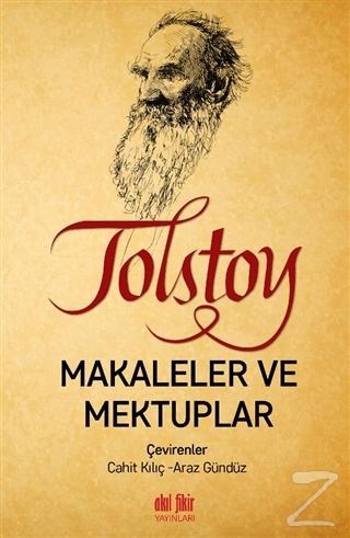 Tolstoy - Makaleler ve Mektuplar