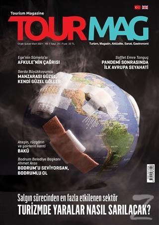 TOURMAG Turizm Dergisi Sayı:25 Ocak-Şubat-Mart 2021