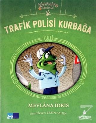 Trafik Polisi Kurbağa - Hayvanlar İş Başında