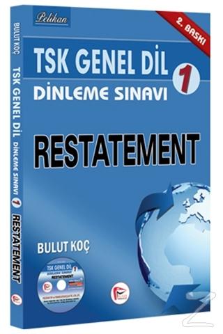 TSK Genel Dil Dinleme Sınavı 1 - Restatement