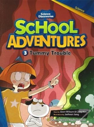 Tummy Trouble +CD (School Adventures 3)