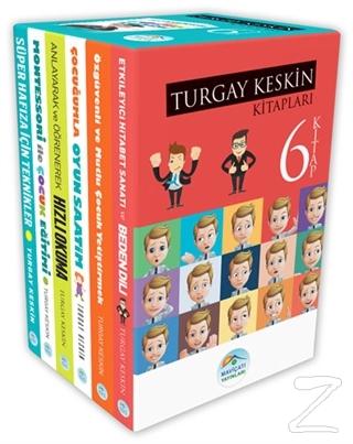 Turgay Keskin Gelişim Kitapları Seti (6 Kitap Takım) Turgay Keskin