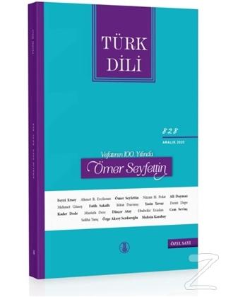 Türk Dili Dergisi Sayı: 828 Aralık 2020