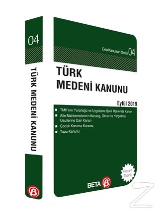 Türk Medeni Kanunu Eylül 2019 Celal Ülgen