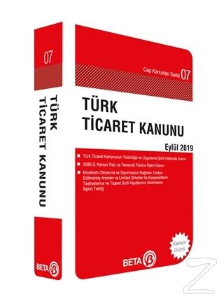 Türk Ticaret Kanunu Eylül 2019