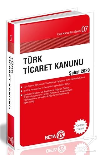 Türk Ticaret Kanunu - Şubat 2020