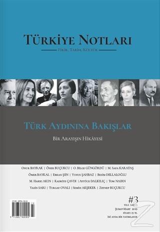 Türkiye Notları Fikir Tarih Kültür Dergisi Sayı: 3