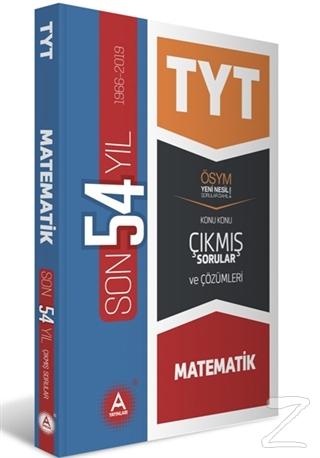 TYT Matematik Son 54 Yıl Konu Konu Çıkmış Sorular ve Çözümleri